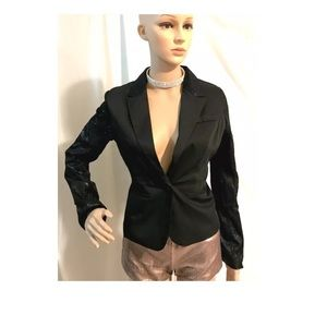 NWT evening black jacket blazer