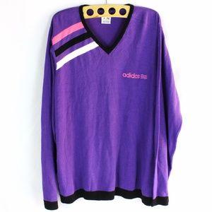 Adidas Sweater Retro 90's Sweatshirt Loose Fit 2XL