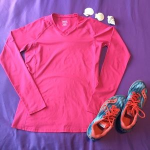 Pink Athletic long sleeve shirt