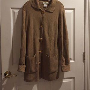 Neiman Marcus Cashmere Sweater Coat