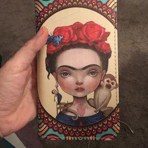 Handbags - Frida Kahlo lowbrow art wallet