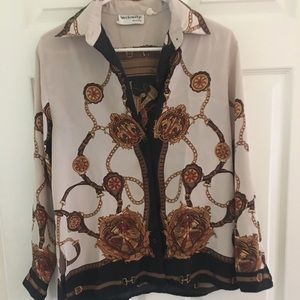 VINTAGE chain shirt