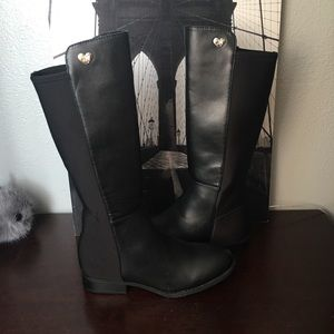 50/50' Stretch Back Riding Boot