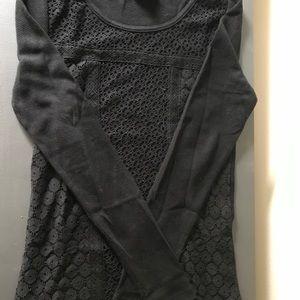 Lucky Brand Long Sleeve Shirt Black Size: M NWOT