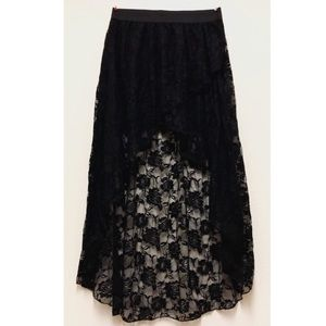 GODDESS sheer maxi skirt (NEVER WORN)