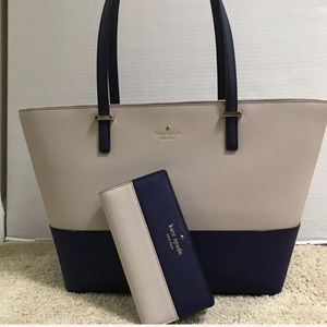 Kate Spade Cedar Street Tote and matching Wallet