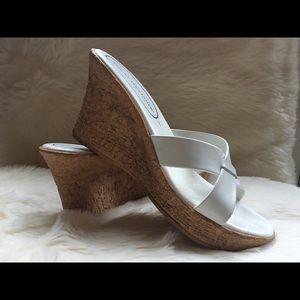 Athena Alexander wedge heel sandals