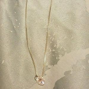 Swvorski gem necklace