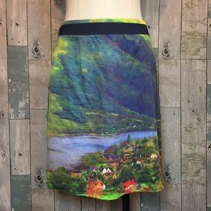 Meadow Rue River School Skirt