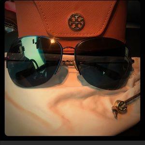 Tory Burch oval sunglasses