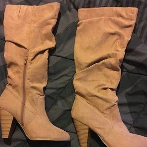 Shoes - Cognac boots.