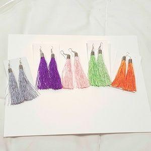 Trendy Tassel Earrings