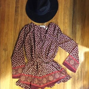 M&L long sleeve romper