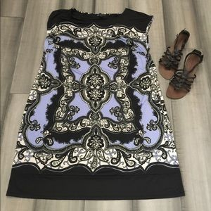 NWT INC International Concepts Vivid Paisley Dress