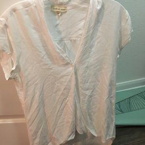 White Cloth & Stone top