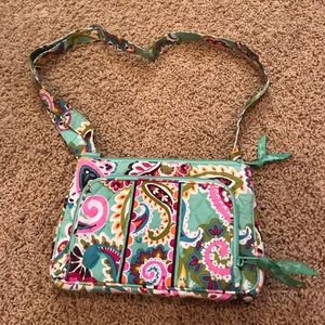 Vera Bradley Tutti Fruity cross body. Like new!