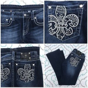 "💙👖Beautiful! Miss Me Jeans!👖💙29 7/8 30"" Bling!"