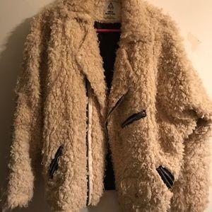 U.N.I.F. Fluffy Moto Jacket