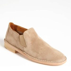 VINCE. Mia suede Chelsea bootie loafer size 8