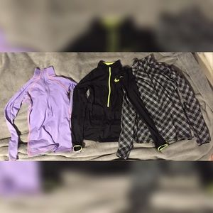 NIKE PRO DRY FIT PULLOVER BUNDLE