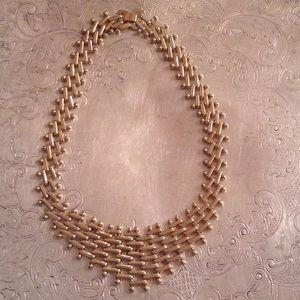 Gorgeous vintage gold necklace