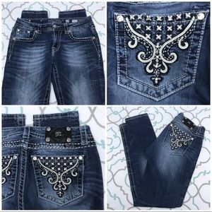 "💙👖Gorgeous Miss Me Jeans👖💙29 7/8 32"" So Pretty"
