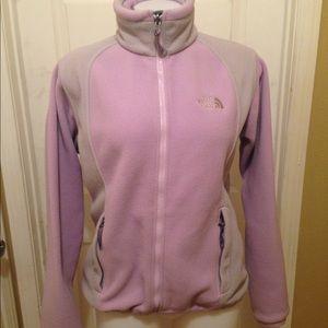The North Face Women's Purple Fleece Zip Up