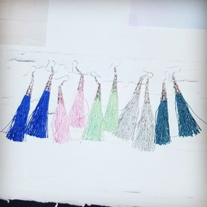 Jewelry - Cone Tassel Earrings