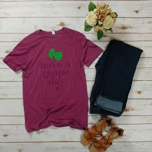 Coming soon!!! Have a grape day tee