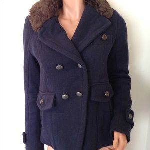 American Eagle Outfitters blue jacket coat small