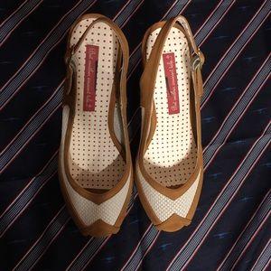 BAIT FOOTWEAR 1940s 1950s Pin Up Style Heels