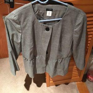 Grey jcrew blazer