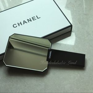 Chanel Beaute acrylic handheld mirror