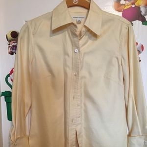 Yellow Banana Republic Button down