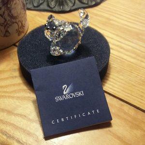 Swarovski Other - Swarovski Crystal Cat
