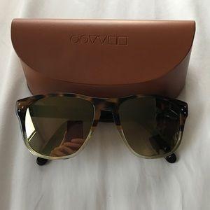 Custom Cascara Tortoise Oliver Peoples Sunglasses