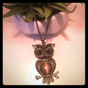 Owl necklace📿