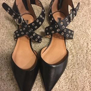 Halogen black sandals