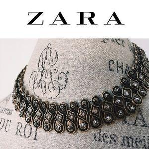 Zara Statement Choker Necklace