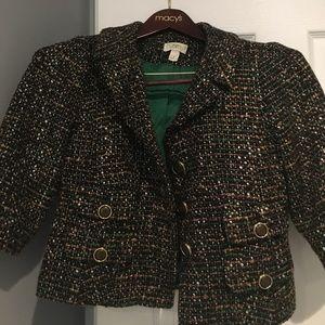 Tweed Loft cropped blazer
