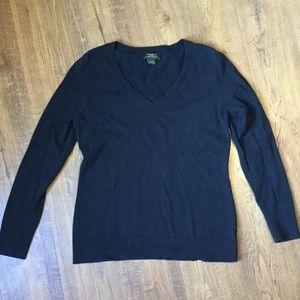 Eddie Bauer cotton cashmere sweater