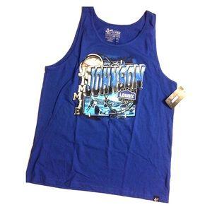 Men NASCAR #48 Jimmie Johnson Lowes Muscle T-Shirt