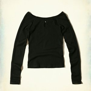 Hollister Keyhole Seamless Top Size Small