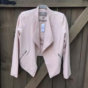 Banana Republic blush pink blazer size 6 NWT