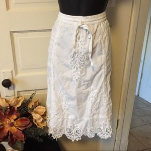 Women's size S skirt white Ralph Lauren