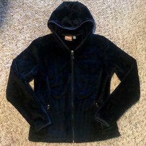 NWOT Merrell Womens Hooded Full Zip Fleece; XS.