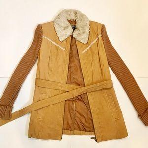 Vintage 70s suede jacket