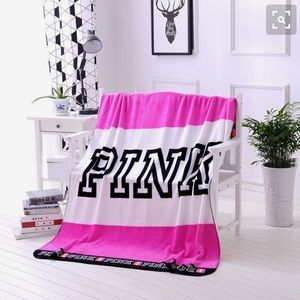 Victoria Secret PINK Fleece Blanket 💕