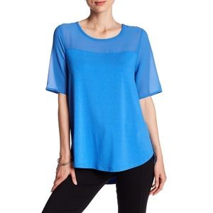 Vince Camuto blouse in classic blue New with tags