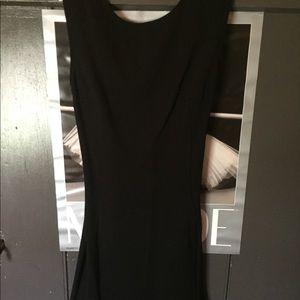 Small sexy black open back & mesh dress!!